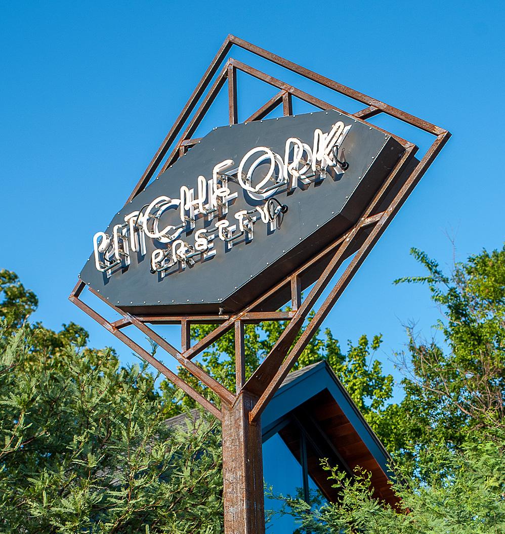 Austin Restaurant Neon Sign