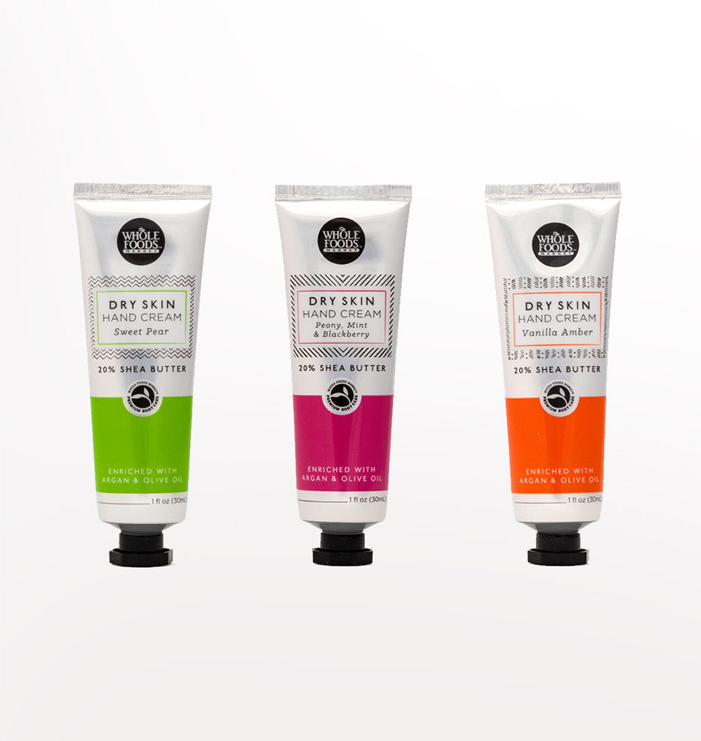 Dry Skin Hand Cream Design, Colors, Packaging