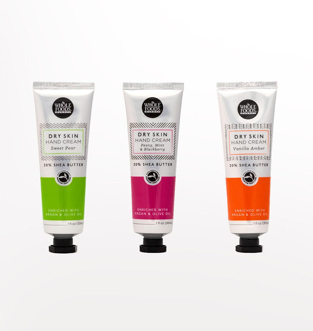 Dry Skin Hand Cream Design, Colors, Packaging